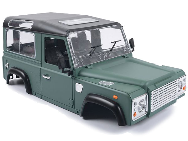 RC4WD ZB0062 1/10 Land Rover Defender D90 Limited Edition Prepainted Green Body Z-B0062