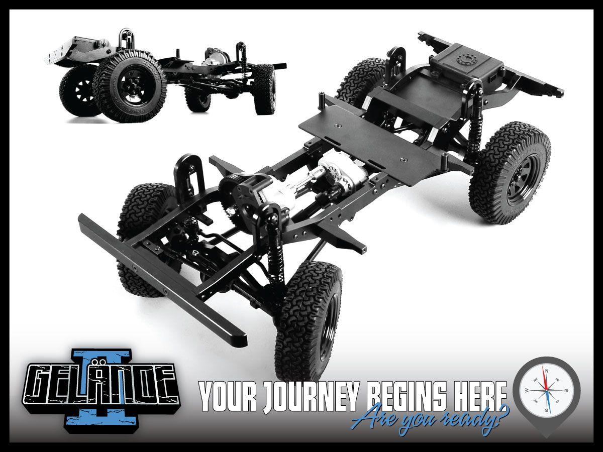 Rc4wd Gelande Ii Truck Kit With Defender D90 Body Set Z K0001