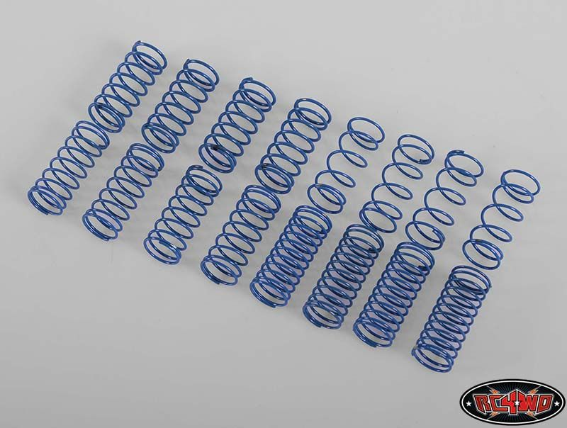 RC4WD ZS1117 100mm King Scale Shock Spring Assortment 