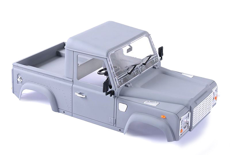 RC4WD ZB0058 1/10 Land Rover Defender D90 Pick Up Truck Hard Plastic Body Kit Z-B0058