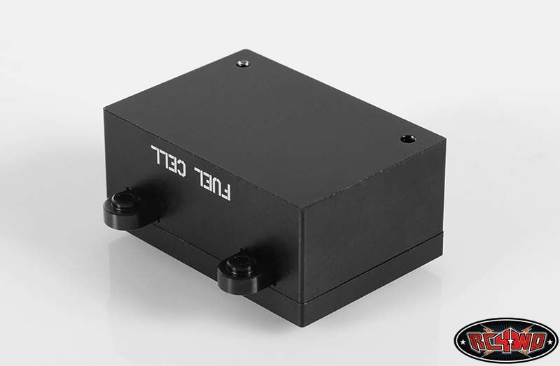 RC4WD ZS1093 RC4WD Billet Aluminum Fuel Cell Radio Box (Black) 