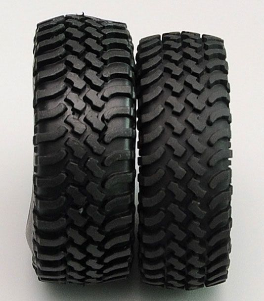 RC4WD ZT0100 Mud Thrashers 1.55 Scale Tires 