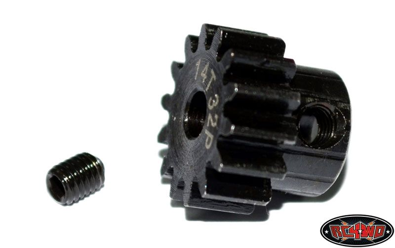 RC4WD ZS0430 14t 32p Hardened Steel Pinion Gear 