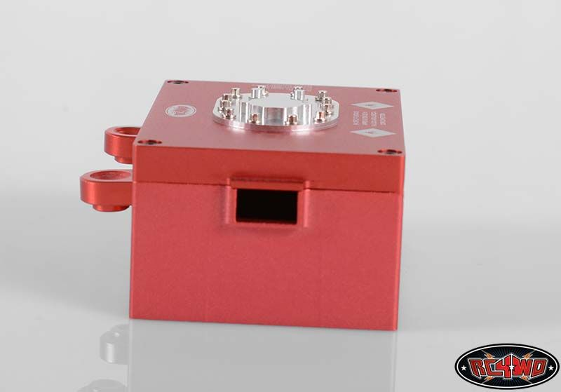 RC4WD ZS1122 RC4WD Billet Aluminum Fuel Cell Radio Box (Red) 