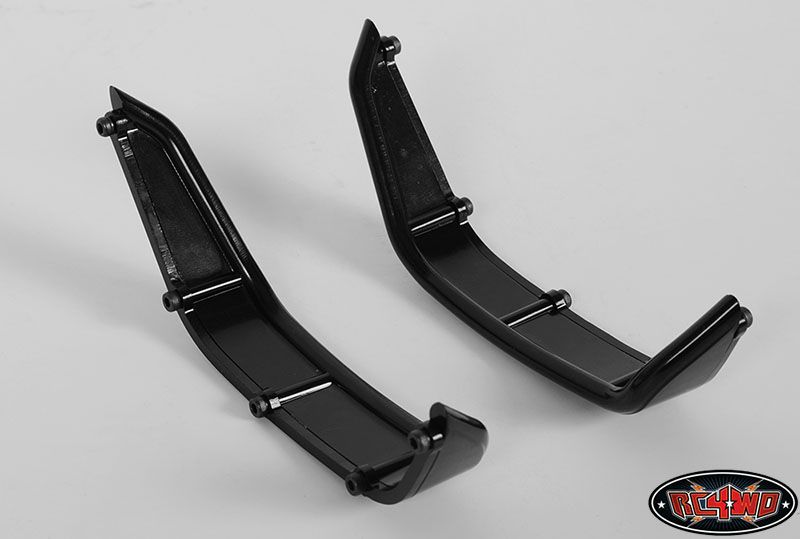 RC4WD ZS1140 Aluminum Tube Rear Fender for Axial Jeep Rubicon (Black) 