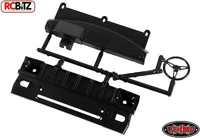 RC4WD ZB0041 Mojave Grill and Dash parts tree (Black) 
