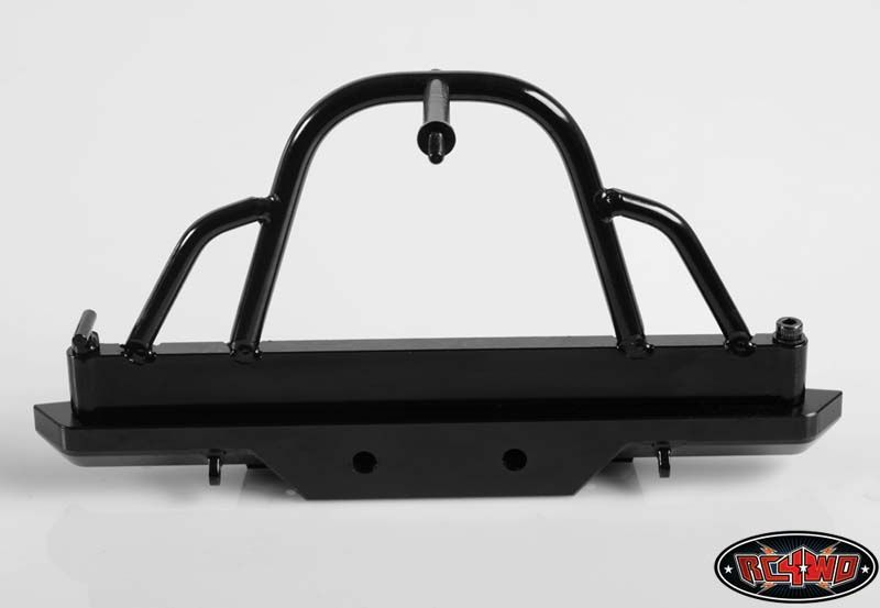 RC4WD ZS0959 Rampage Recovery Rear Bumper with Swing Away Tire Carrier 