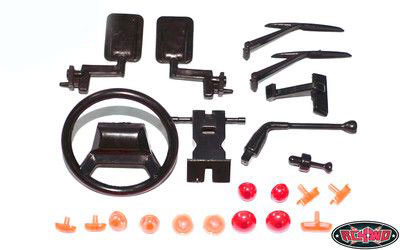 RC4WD ZB0034 Land Rover Defender D90 Hard Body Spare Parts Assortment Z-B0034
