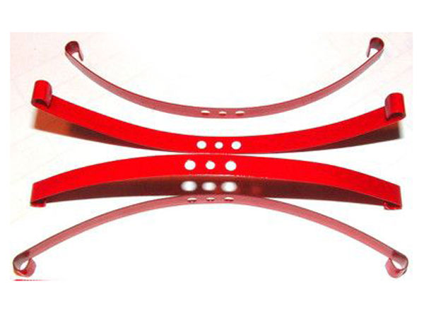 RC4WD ZS0570 Red Super Soft Flex Leaf Springs (4) Z-S0570