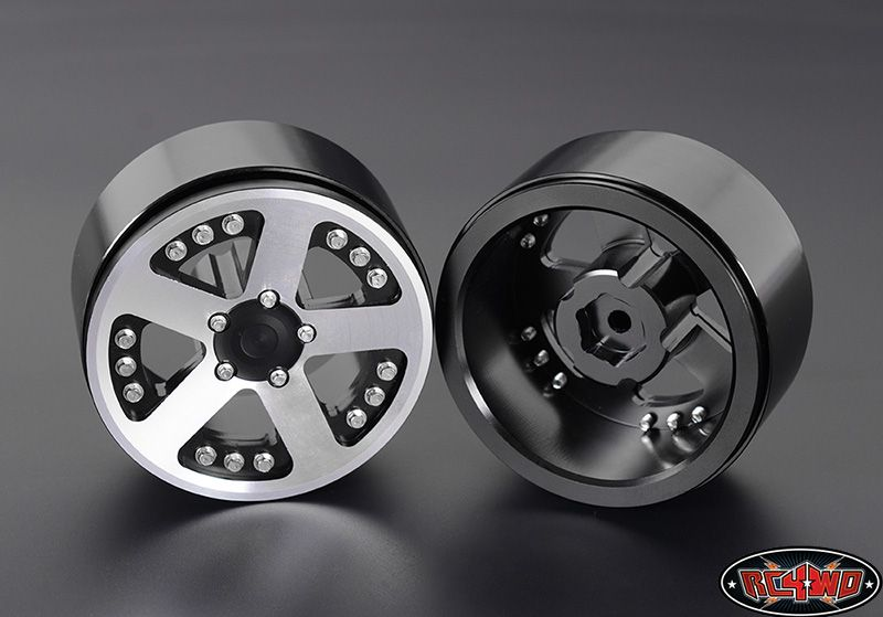 RC4WD ZW0158 Patriot 2.2 Scale Beadlock Wheels 