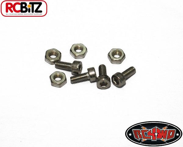 RC4WD ZS0397 Winch Hold down screws (4) 