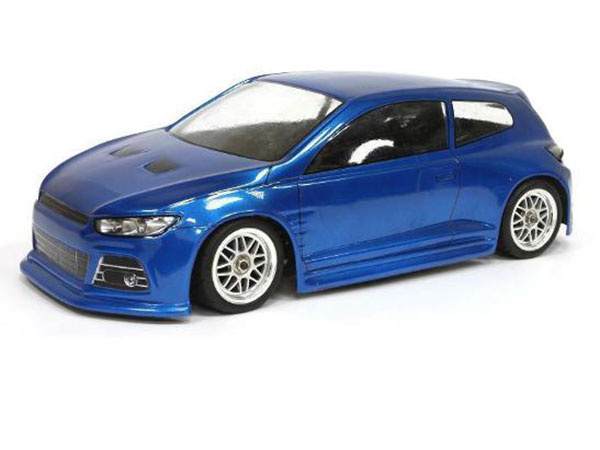 Arion RC S1-Roc GT M-Car Body WB-225mm - Clear AR02-0005