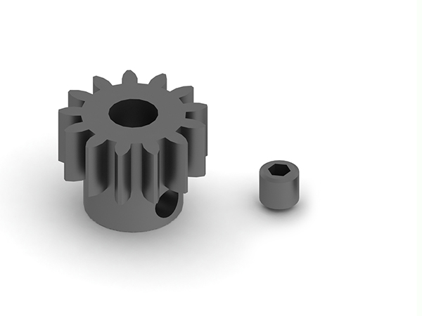 Arrma 13t Mod 1 Steel Pinion Gear 5mm Bore AR310474