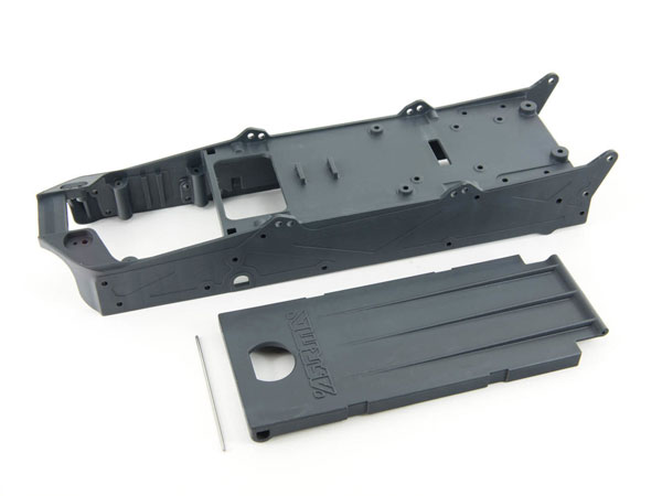 Arrma Composite Chassis and Battery Doors - SWB AR320201