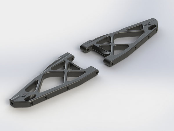 Arrma Front Lower Suspension Arms (2) Nero AR330331