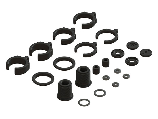 Arrma Composite Shock Parts/ O-Ring Set (2 Shocks) AR330451