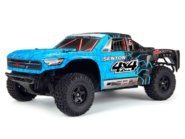 ../_images/products/small/Arrma Body Painted, Decaled and Trimmed Senton Mega 4x4 - Blue/ Black