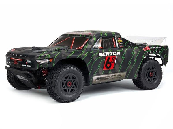 ../_images/products/small/Arrma 2018 Senton 6S Painted BLX Body Black/ Greeb