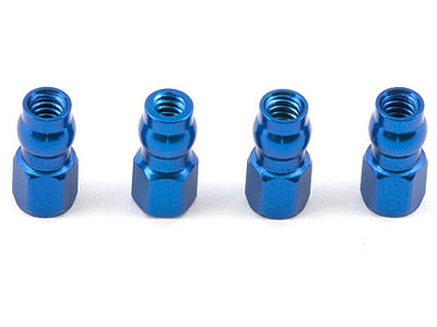 Associated Aluminium Blue Shock Bushings AS1780