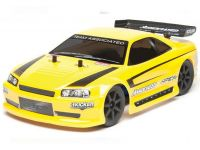 Image Of Associated APEX Mini Touring RTR 1/18th Scale Electric On-Road 4WD Touring Car (Yellow)