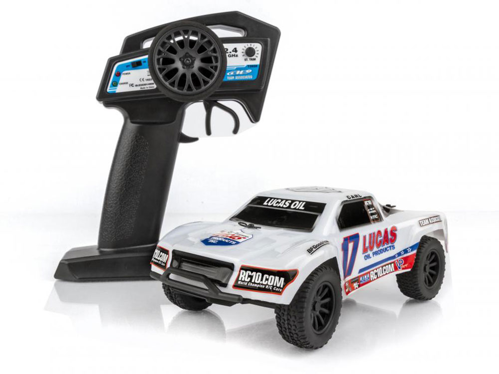 Associated sc28 rtr lucas oil edition short course as20150 for Rc electric motor oil