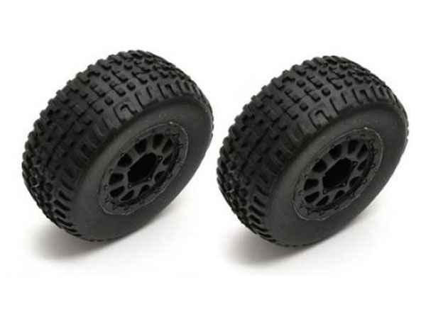Associated SC18 Mounted Wheels and Tyres (2) AS21352