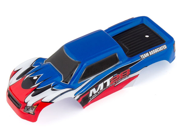 ../_images/products/small/Associated MT28 Painted Body Shell - Blue