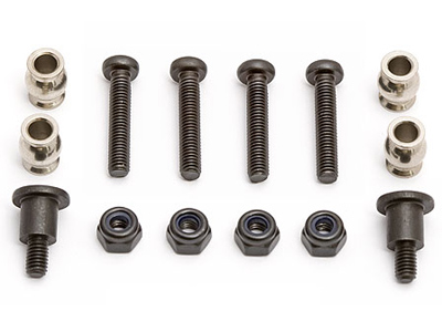 Associated Rival Bellcrank Posts & Bushings AS25127
