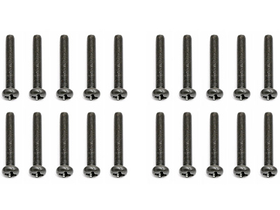 Image Of Associated 3x20mm Button Head Phillips Screw