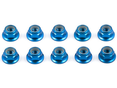 Image Of Associated FT Blue 5mm Locknut