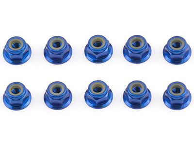 Associated FT Blue 4mm Locknut AS25391
