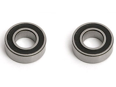 Image Of Associated 3/16 x 3/8 Rubber Sealed Bearings (2)
