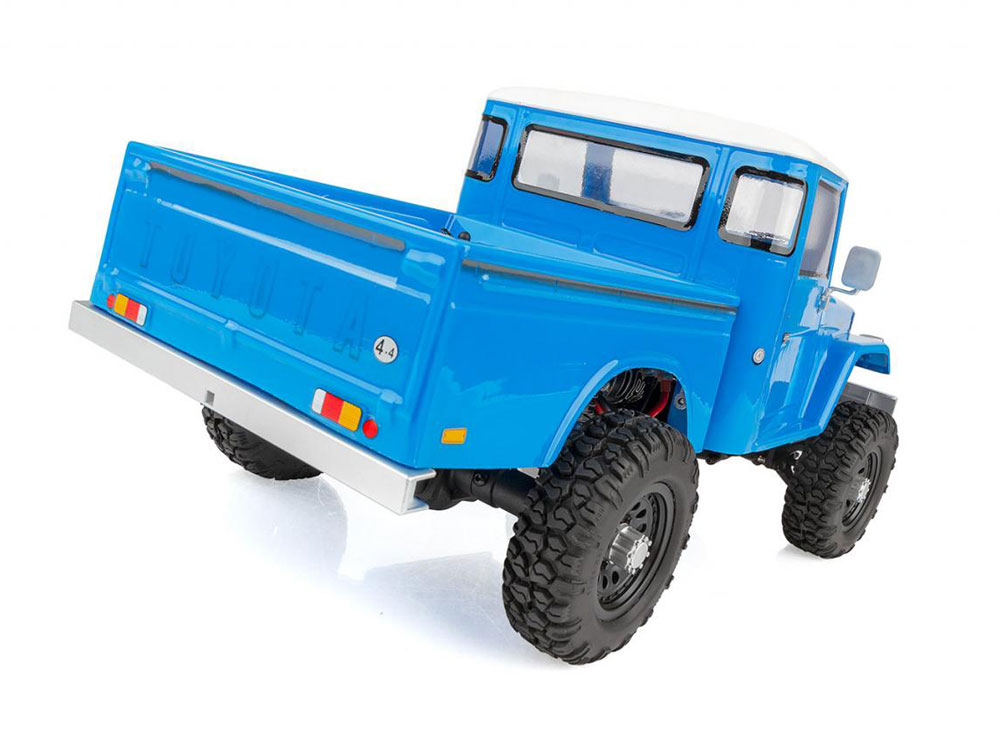 Associated CR12 Toyota FJ45 Pick-Up RTR - Blue AS40003