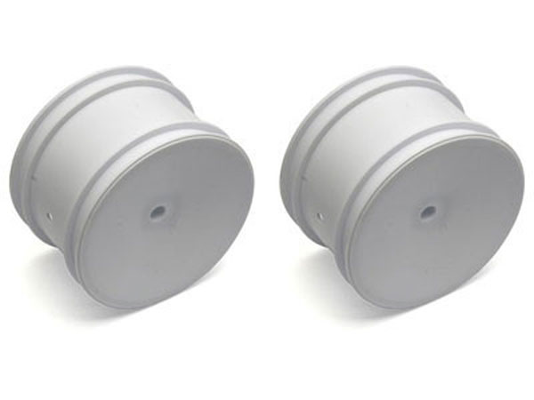 Image Of Associated RC10 2.2 Rear Wheel For 3/16 Axel (White)