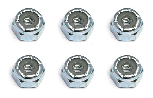 Associated 8-32 Steel Locking Nuts AS6952