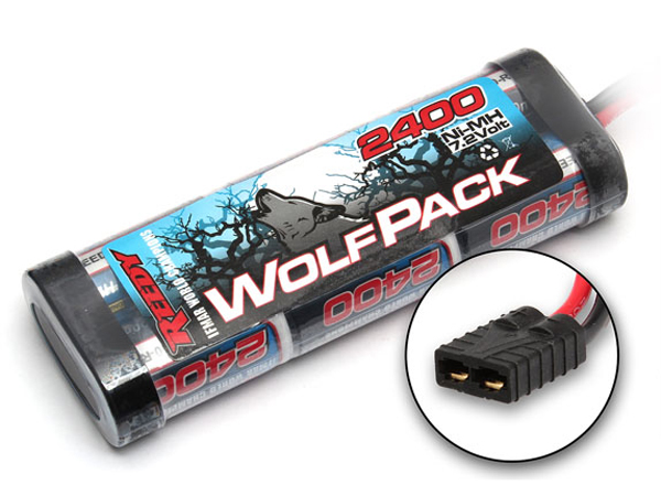 Image Of Reedy WolfPack 7.2V 2400 mAh With Traxxas Style Connectors
