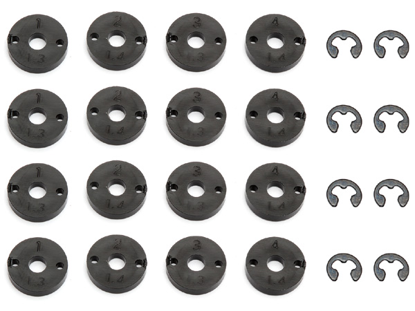 Image Of Associated Prolite 4x4 Shock Pistons