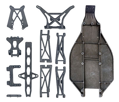 Associated T4 Full Carbon Parts Set AS7467