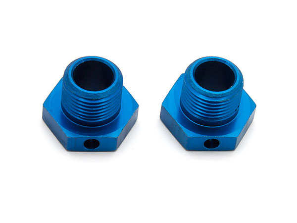 Associated RC8B3 Hex Drives, 17mm, Blue  AS81081