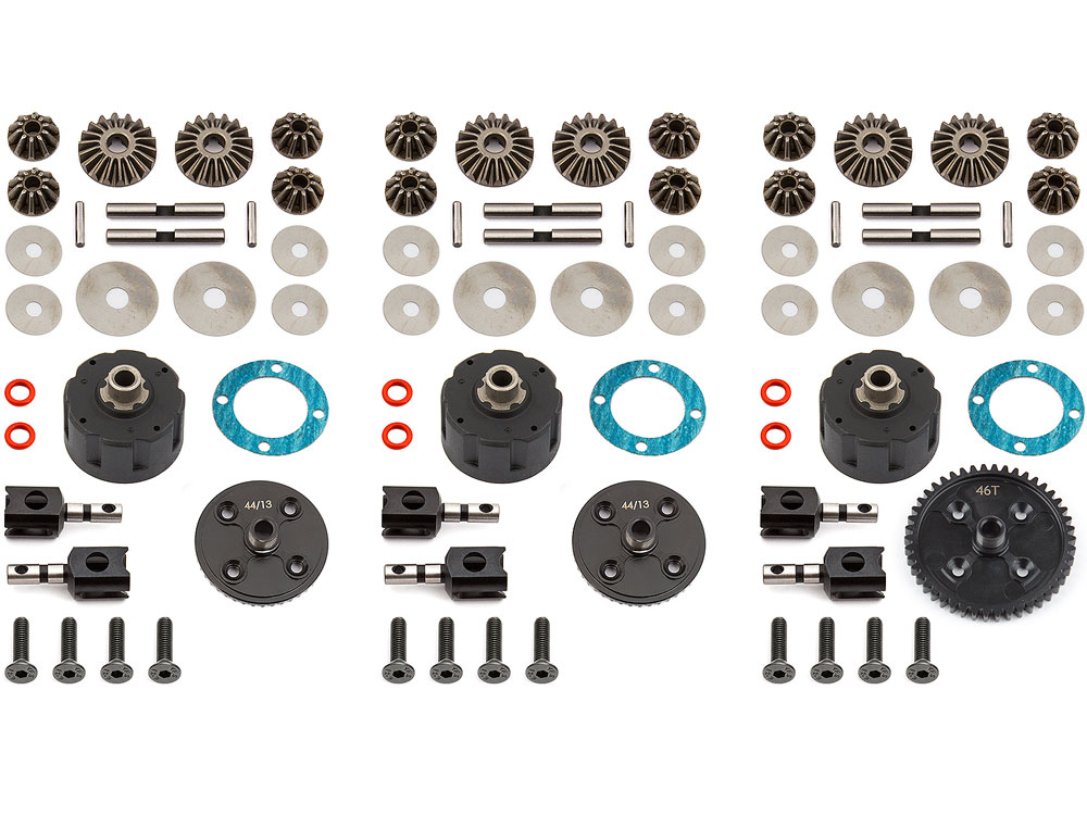 Associated RC8B3 V2 Differential Set AS81361