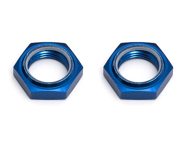 Associated RC8 Wheel Hex Nuts Blue (2) AS89094