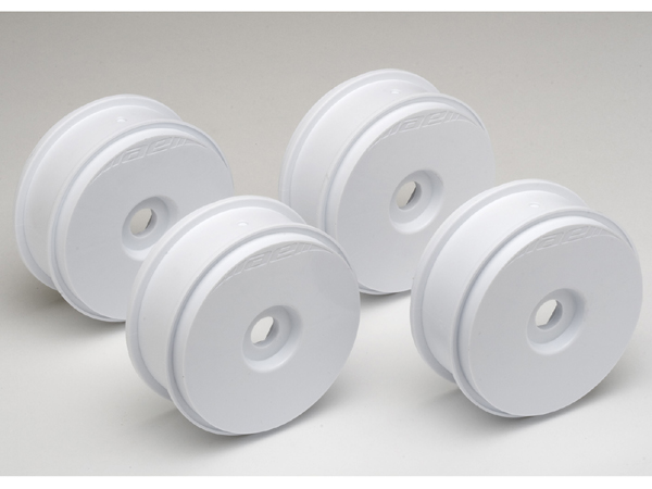 Image Of Associated RC8 Buggy Wheels 1/8 (White) 81mm