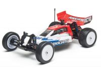 Image Of Associated RC10B4.2 Race Spec RTR Buggy (Red/White)