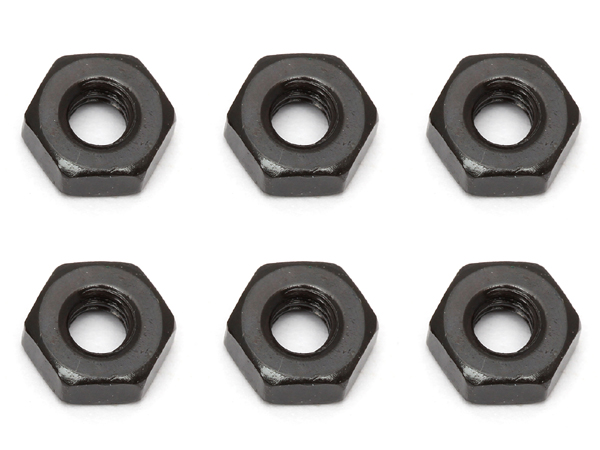 Associated 3mm Nut (Black) AS91477