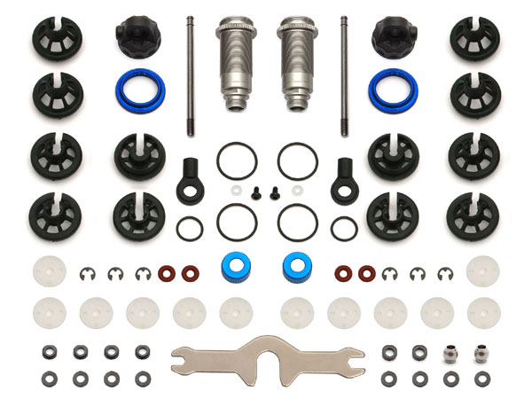 Associated 12x27.5b/27.5s V2 Shock Kit (T5M/SC5M) AS91497