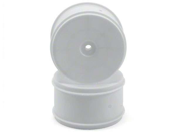 Image Of Associated 61mm Rear Buggy Wheels - White (2)