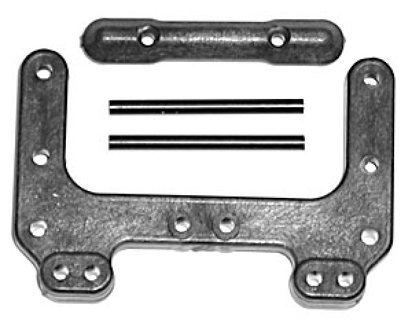 Associated Rear Chassis Brace, Front Pin Brace Carbon AS9565