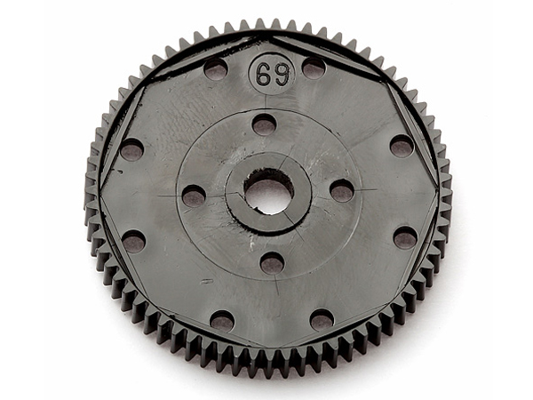 Image Of Associated 69 Tooth 48 Pitch Spur Gear