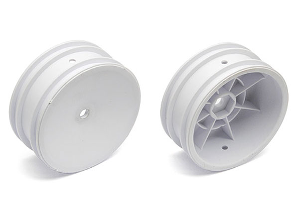 Image Of Associated Buggy Front Wheel, 12mm Hex (White)