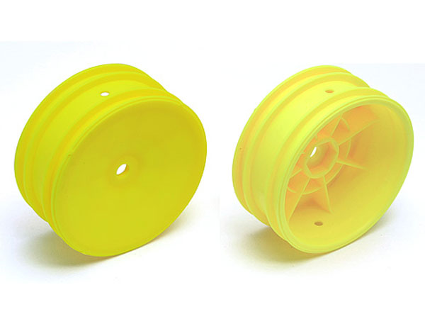 Image Of Associated Buggy Front Wheel, 12mm Hex (Yellow)